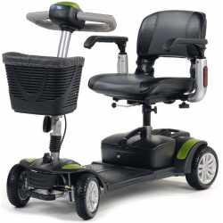 Scooter eléctrico Eclipse + 4 ruedas