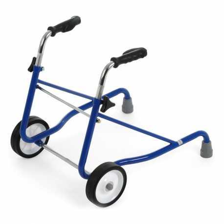 Caminador infantil regulable (azul)
