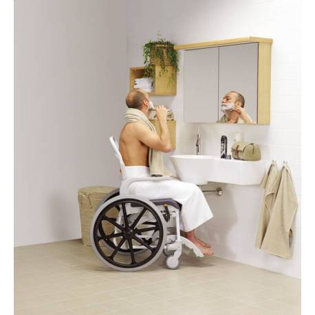 Silla De Ducha Autopropulsable Clean  - Ayudas Dinamicas