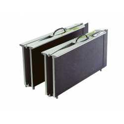 Rampas de aluminio tipo maleta multi-plegado