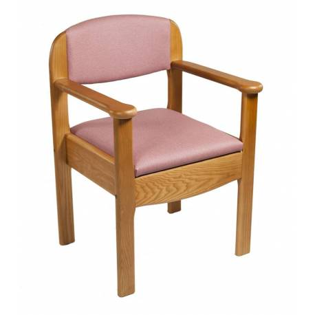 Silla w.c. de madera 'Royal'