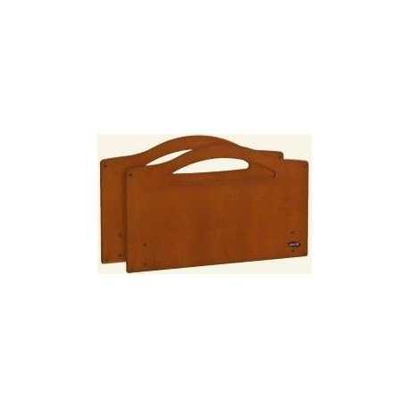 Paneles Kirsty (par) - haya - con guias barandillas madera