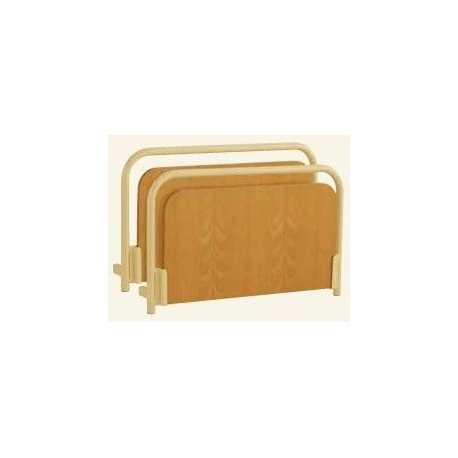 Paneles Nadine (par) - borde metal - inserto de madera