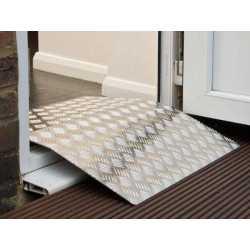 Rampa Puente para puerta - Rampa de aluminio