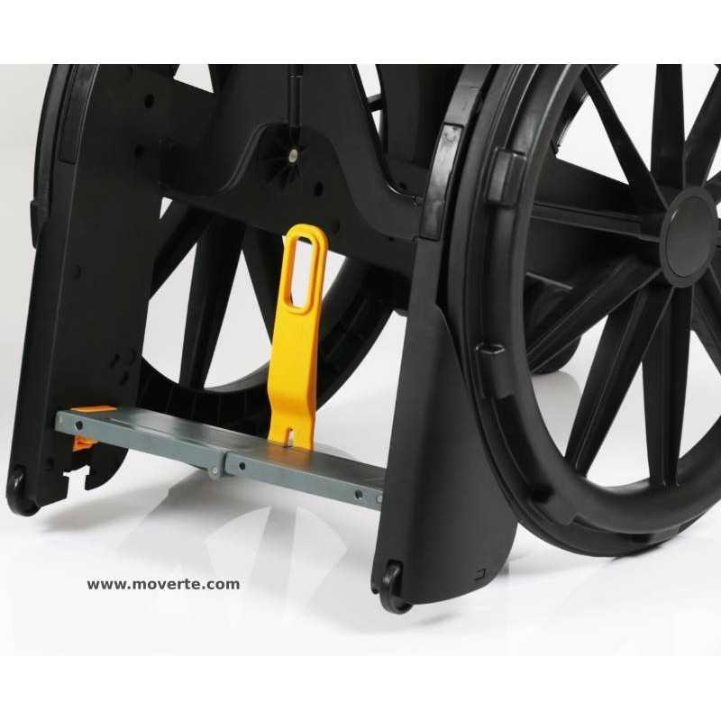 Silla de ducha y wc plegable wheelable ideal para viaje - Sillas de viaje ...
