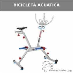 Bicicleta acuática inoxidable con asiento