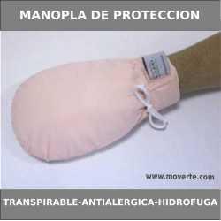 Manopla de protección