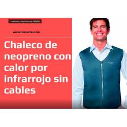 Chaleco De Calor Infra-Rojo Neopreno Sin cables