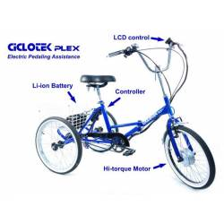 Triciclo Eléctrico Adultos Plegable PLEX