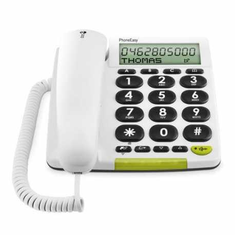 Doro PhoneEasy 312CS - Teléfono Pantalla Grande Lectura Fácil