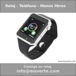 Reloj – Teléfono manos libres interactivo