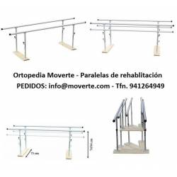 Paralela plegable regulable en altura 2 m