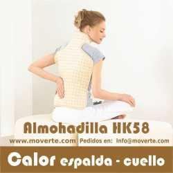 ALMOHADILLA ELECTRÓNICA  LED  CERVICAL/DORSAL