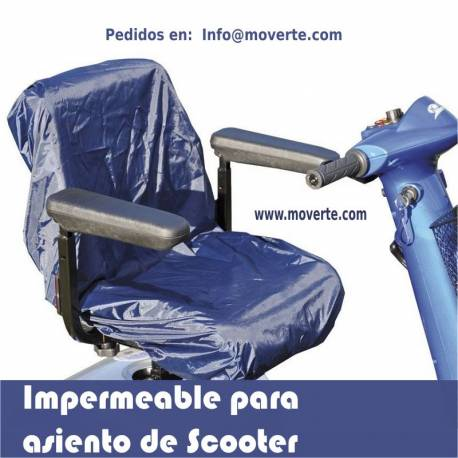 Funda impermeable para asiento de Scooter Splash