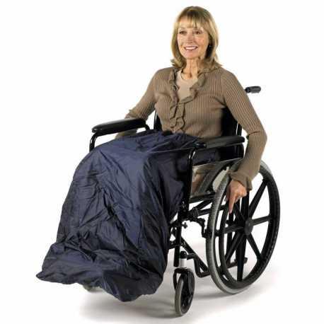Saco/Manta forrada Deluxe para silla de ruedas Splash - U