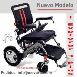 Nueva silla de ruedas IExplorer 3