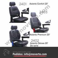 """Asiento Premium 20"""""""