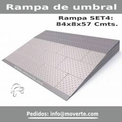 Rampa de umbral modular Secucare 4 capas