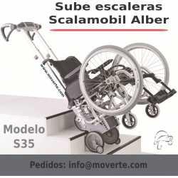 SCALAMOBIL S35. Sube escaleras electrónico