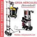 Grúa Hércules para elevar scooter eléctricos