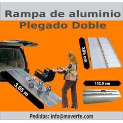 Rampa de 3,05m. Plegable de aluminio