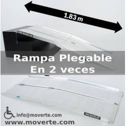 Rampa de183 Cmts. super plegable.