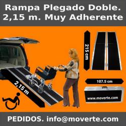 Rampa de 2,15 m. plegable alta adherencia.