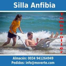 Silla de ruedas y tumbona anfibia - Tumboroller