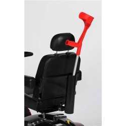 Porta baston para silla de ruedas eléctrica
