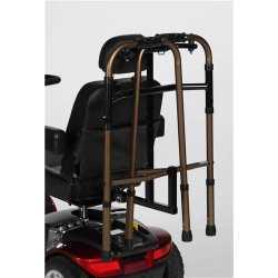 Soporte para llevar caminador detras de silla o scooter