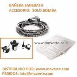 Bomba hinchador Bañera Sanebath