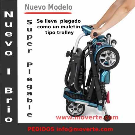 Scooter Electrico para minusvalidos I Brio con pedal de plegado - Apex