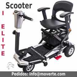 I Elite Scooter Eléctrico plegable para minusvalidos