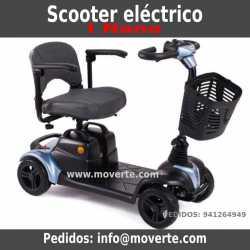 scooter-electrica-para minusvalidos-se desmonta en-4-piezas-Scooter i-nano-de-apex