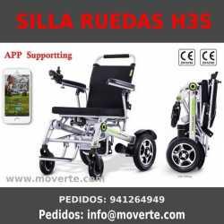 Silla de ruedas eléctrica plegable  automáticamente Airwheel H3S