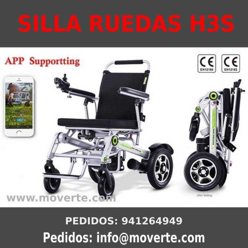 Silla eléctrica super plegable Airwheel S3H Ortopedia online