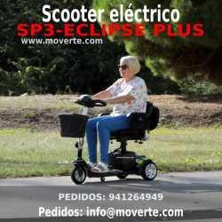 Nuevo modelo Scooter de 3 ruedas ECLIPSE PLUS