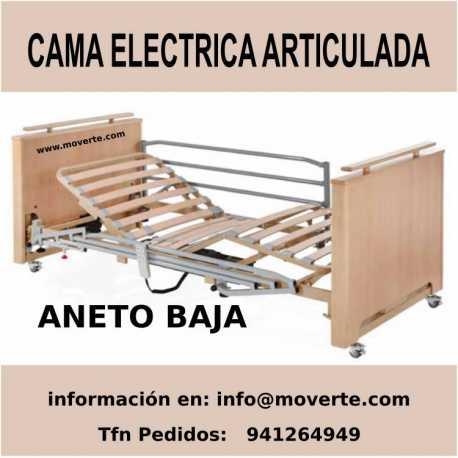 Cama electrica articulada Aneto baja