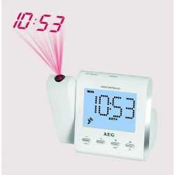Despertador con radio y proyector de hora