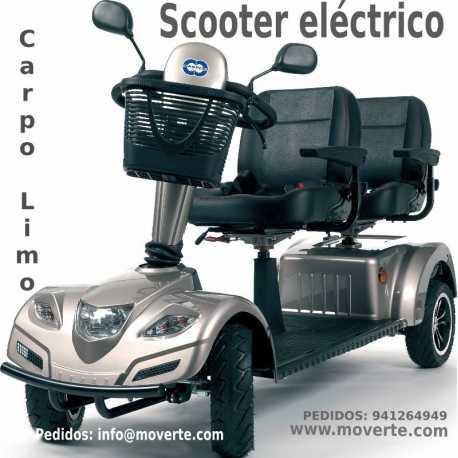 Scooter para dos personas Carpo Limo