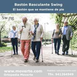 Bastones basculantes Swing que se mantienen de pie