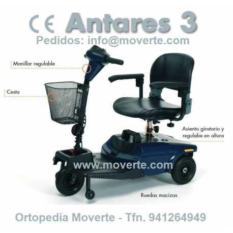 Scooter Antares 3 Ruedas Vermeiren