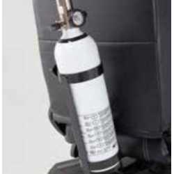 Soporte botella de oxígeno scooters invacare