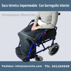 SACO TÉRMICO IMPERMEABLE CON BORREGUITO