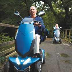 Nuevo Scooter Vecta Sport con altas prestaciones
