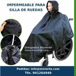 IMPERMEABLE SILLA DE RUEDAS