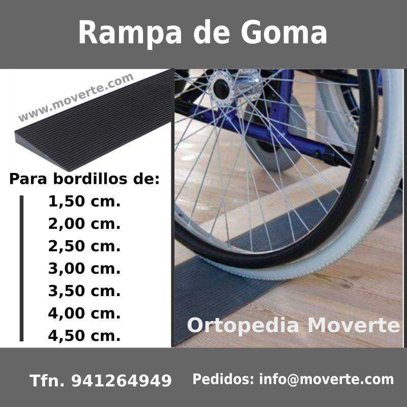salva bordillos para sillas de ruedas