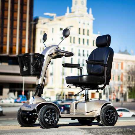 Scooter eléctrico con suspensión Cruiser