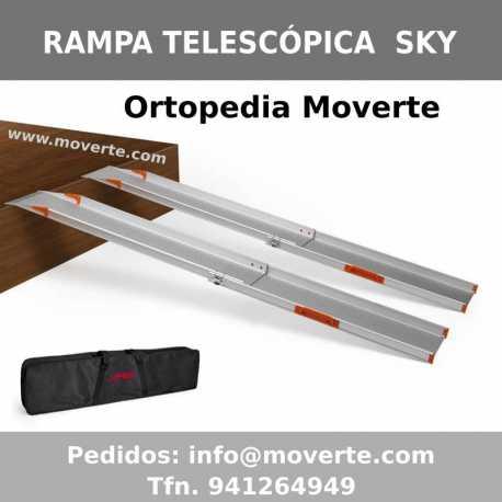 Rampa Telescópica de 2 carriles Sky 140-210