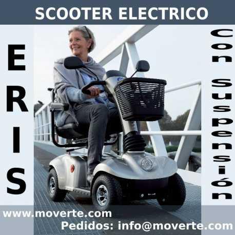 Scooter eléctrico con suspensión ERIS